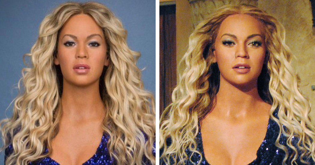 beyonce statue at madame tussauds is