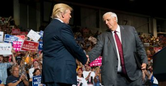 In West Virginia, Trump Hails Conservatism and a New G.O.P. Governor