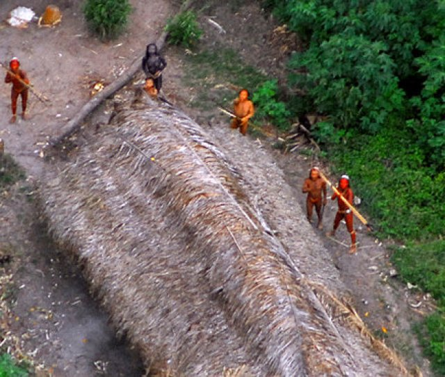 Image Members Of An Uncontacted Tribe