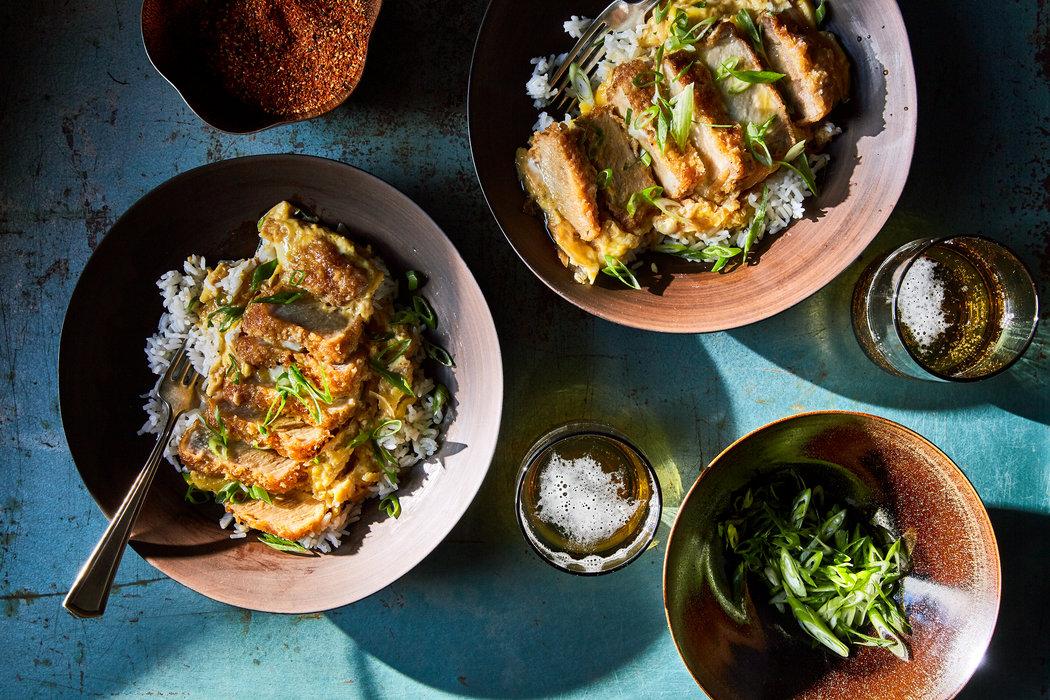 來一碗日本動漫裡光芒四射的豬排飯 - 紐約時報中文網