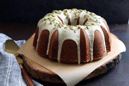 Pumpkin Bundt Cake With Maple Brown Butter Glaze Recipe