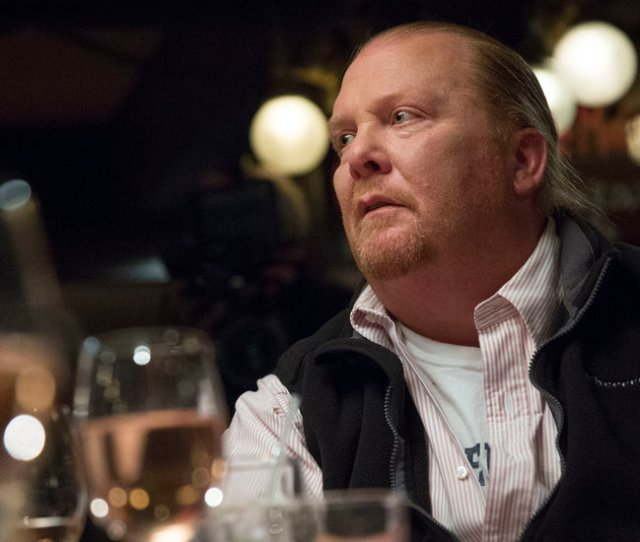 Mario Batali Steps Away From Restaurants Amidual Misconduct Allegations The New York Times