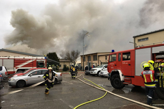 13Austria2 master675 - Austria Gas Explosion Leaves One Dead and 18 Injured