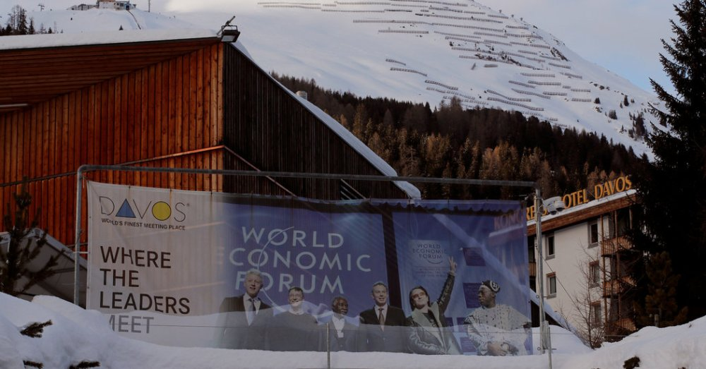 Global Elite? At Davos? That's News to Mnuchin (Published 2018)
