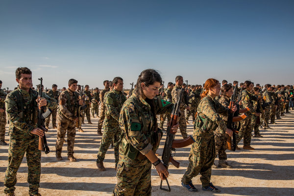 U.S.-Backed Force Could Cement a Kurdish Enclave in Syria ...