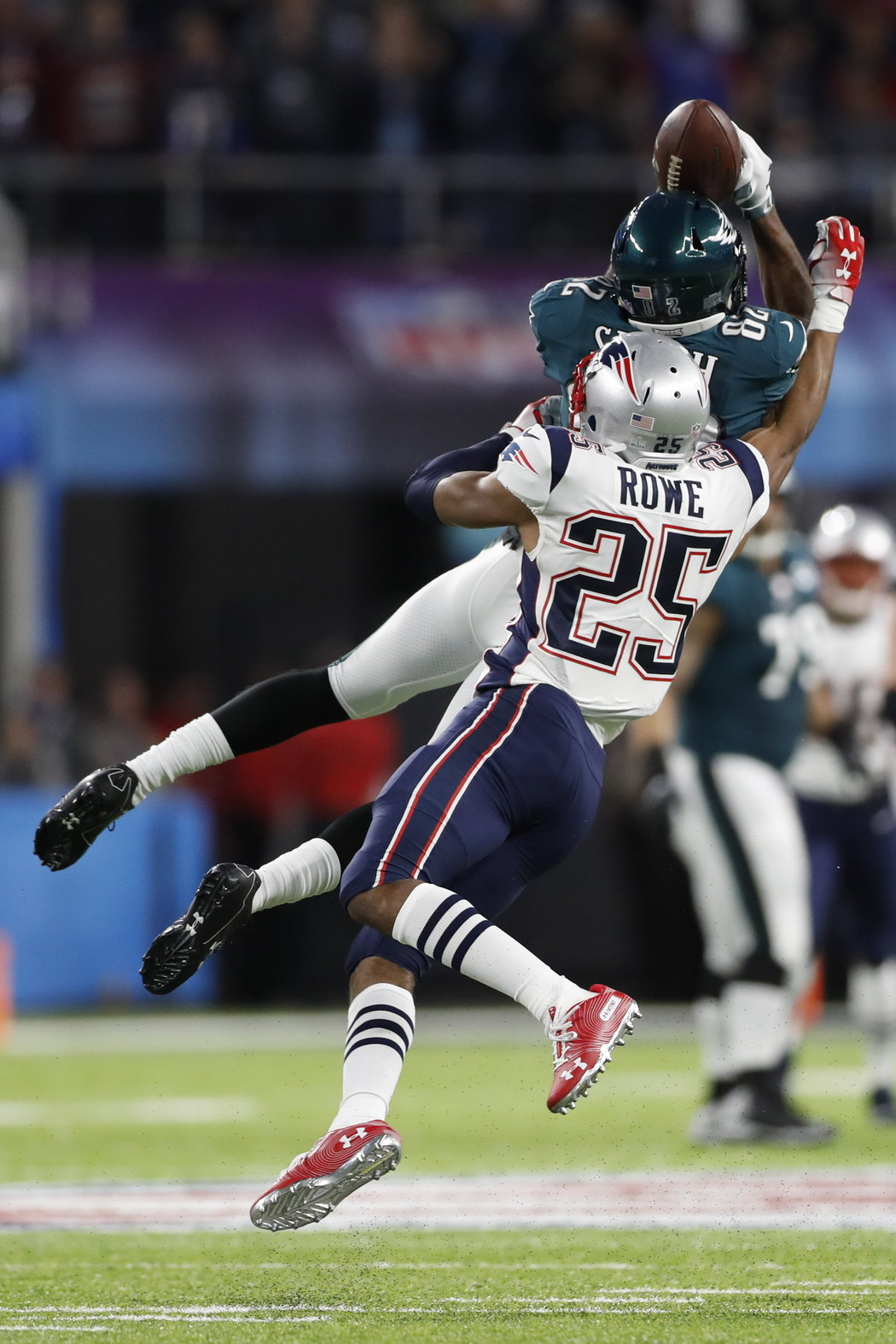 Super Bowl Eagles Lead Patriots After First Drive