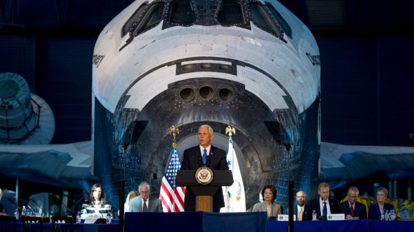 NASA Budgets for a Trip to the Moon, but Not While Trump ...