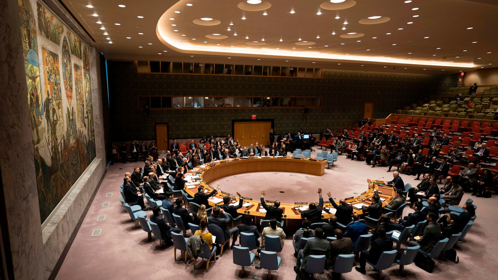 U N Security Council Votes In Favor Of Syria Cease Fire After Week Of Bloodshed