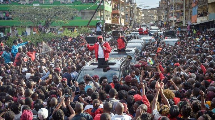 Image result for political rallies kenya 2021