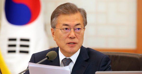 South Korea's Leader Floats 3-Way Talks With Trump and Kim ...