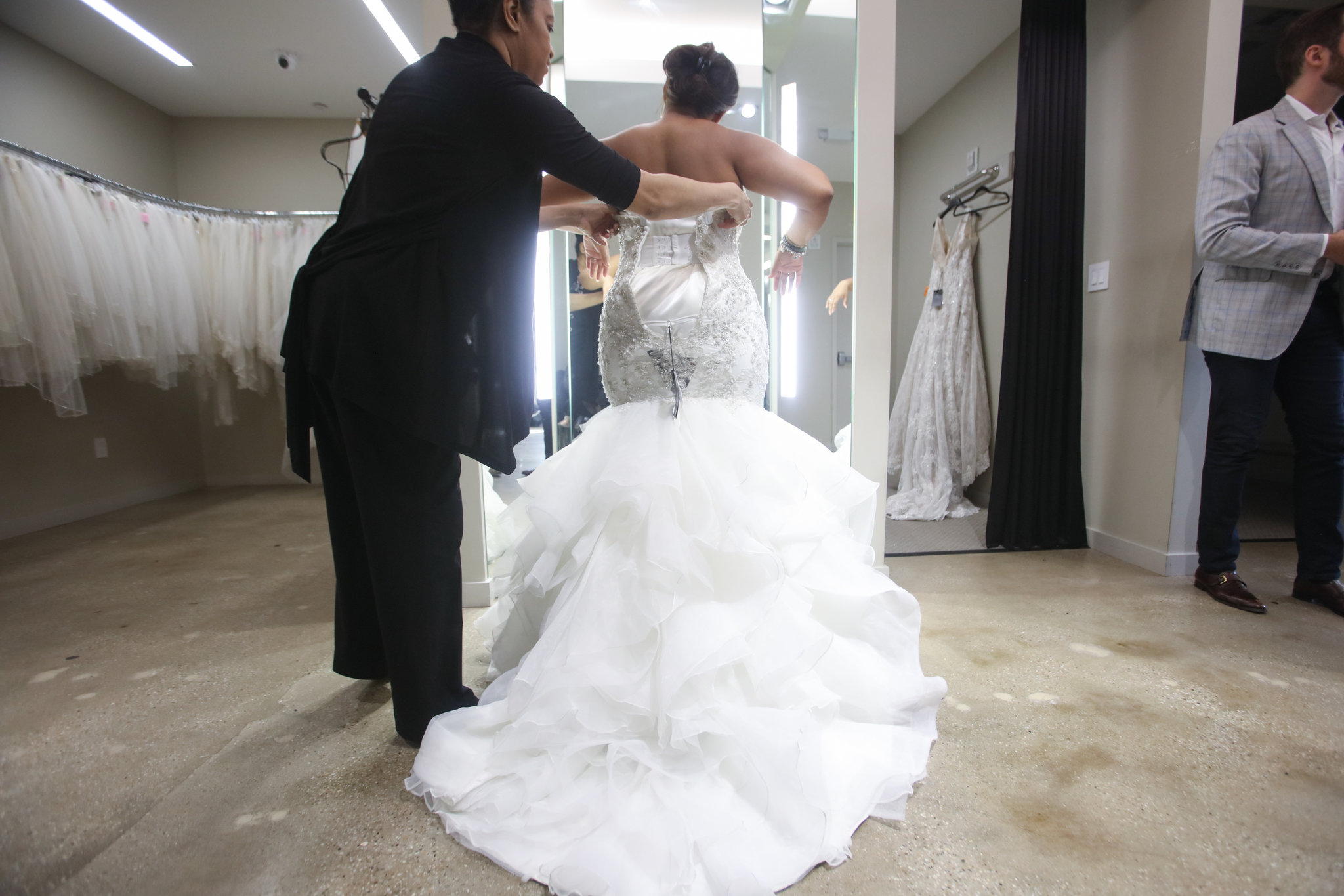 Dress Designers Add Options For Plus-Size Brides