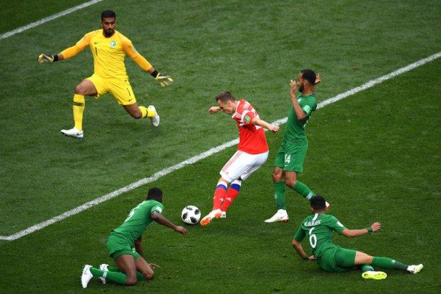 merlin 139565430 bd0eb16d 030d 415e a1a1 df16eb7d4484 master675 - World Cup 2018: Russia vs. Saudi Arabia Live Score