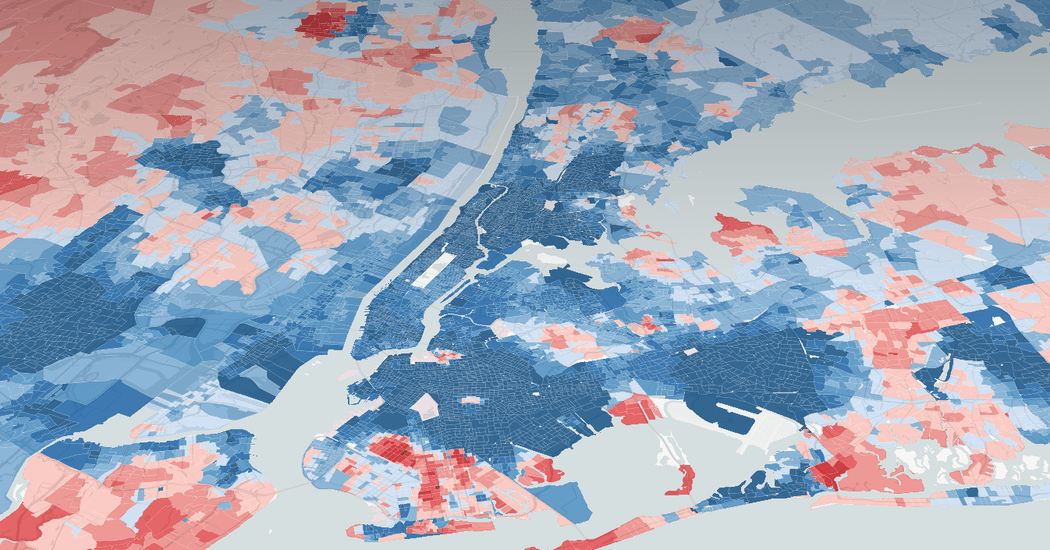 Political Bubbles and Hidden Diversity  Highlights From a Very     Political Bubbles and Hidden Diversity  Highlights From a Very Detailed Map  of the 2016 Election   The New York Times