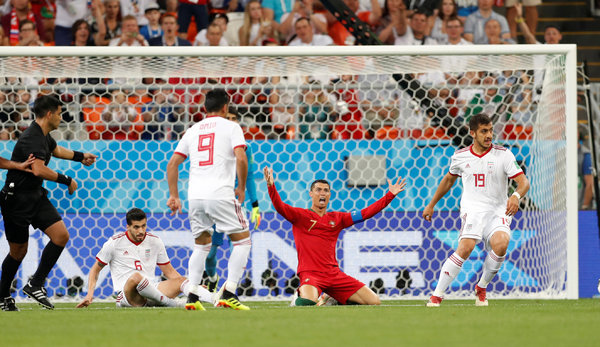 Portugal Fights Off Iran to Advance in World Cup - The New ...