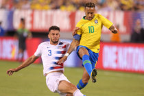 Brazil   The New York Times Neymar Scores on a Penalty Kick as Brazil Dominates the U S