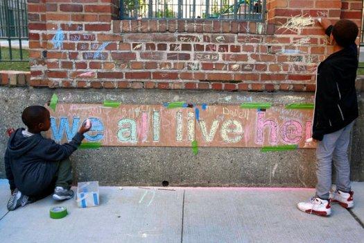 neighborhoods as the unity of change