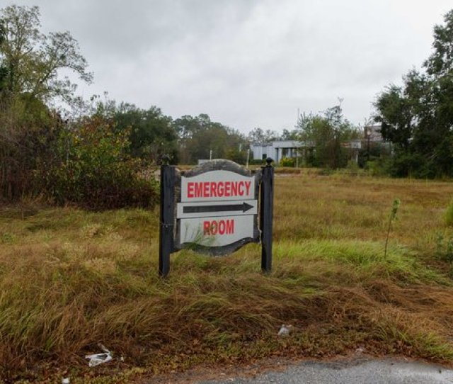 The Telfair County Hospital In Mcrae Ga Closed In 2008 One Of Eight Rural Georgia Hospitals To Shutter In The Last Decade With Many More At Risk