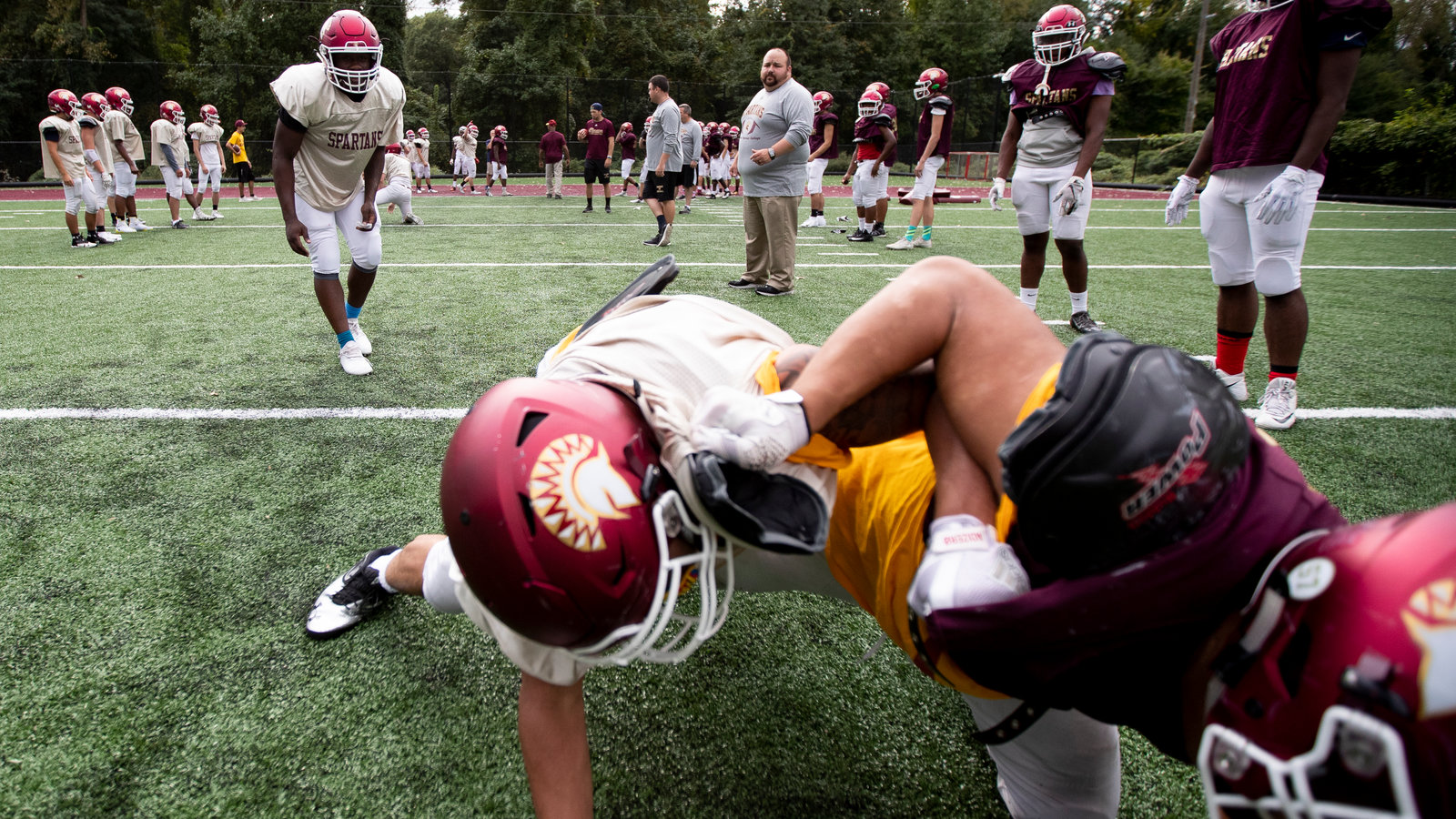 A College Started A Tackle Football Team For Little Guys