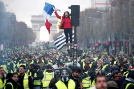Image result for yellow vest protests