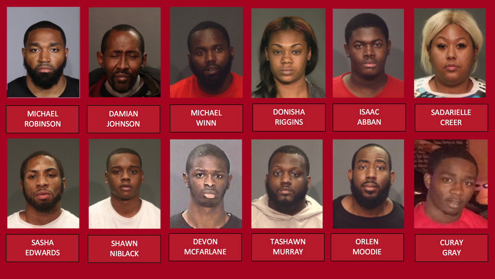 Bloods Gang Members Charged In Rikers Island Based Crime Ring Officials Say