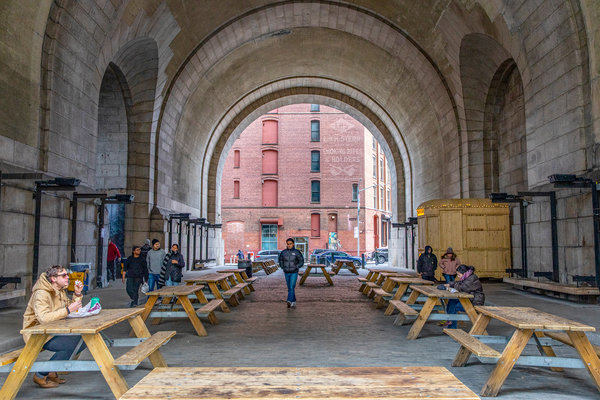 Dumbo Brooklyn Preserved In Amber Sort Of The New