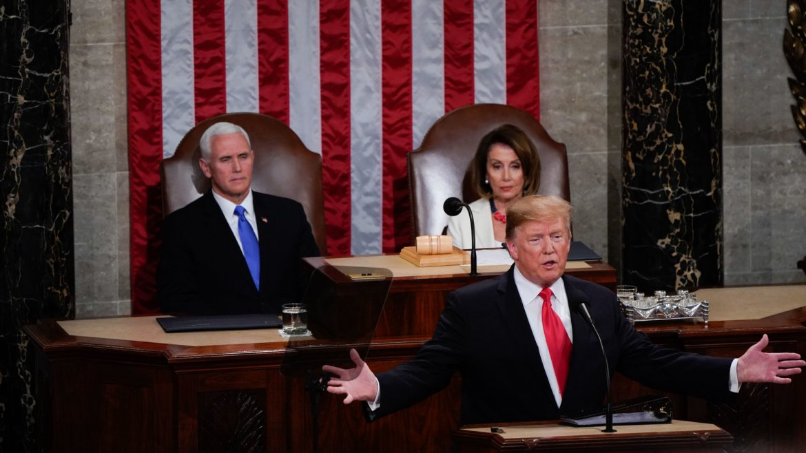 Watch the State of the Union with live analysis.