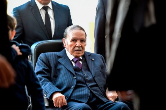 Image result for Algerian President, Abdelaziz Forced To Resign After Ruling For 20 Years
