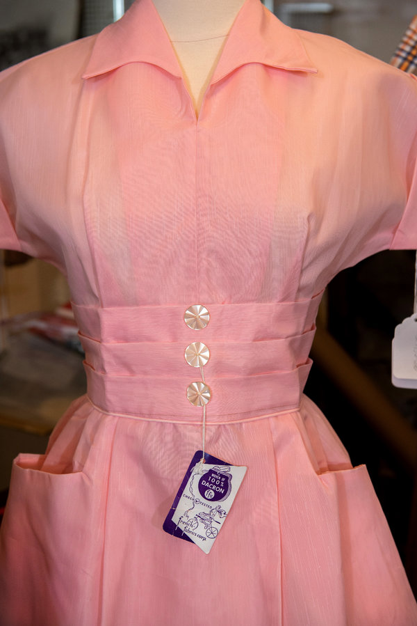 A Dacron dress from the Historic Clothing Collection at Smith College.