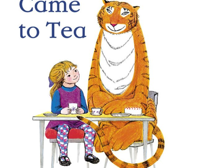 Ms Kerr Said She Was Inspired To Write The Tiger Who Came To Tea Based On Her Experience As A Young Mother In The Late 1950s