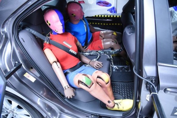 Image result for car seat protector crash tested