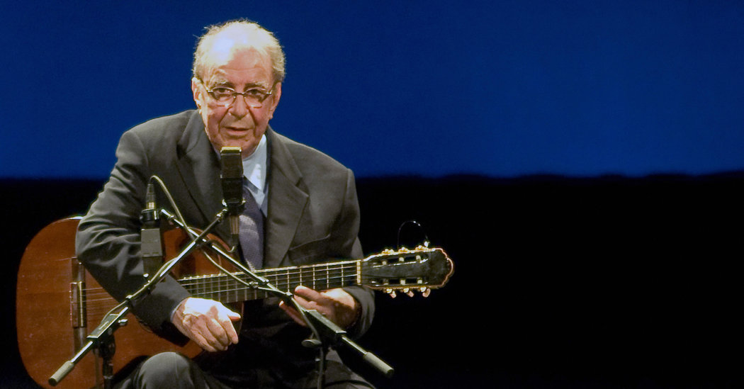 João Gilberto, an Architect of Bossa Nova, Is Dead at 88