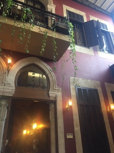 A century-old mansion near the Syrian border, the Liwan Hotel has returned to a sleepier normal. The pedestrian street outside rings with the quiet that comes after a storm has passed.