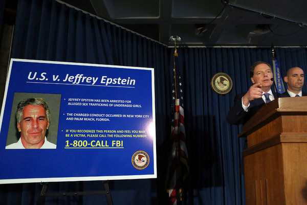 The Southern District of New York announced charges against Jeffrey Epstein last month.