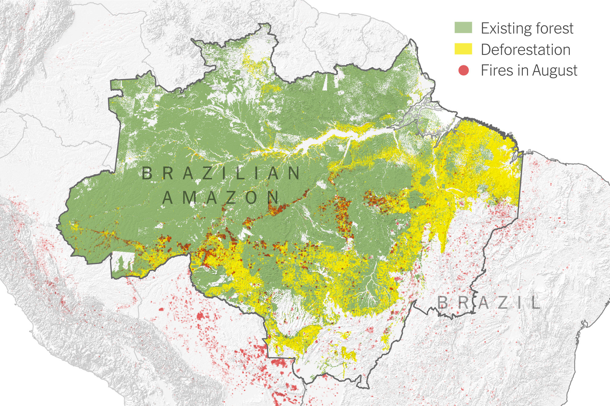 Images of the wildfire that devastated paradise, calif., in 2018 are hard to forget. What Satellite Imagery Tells Us About The Amazon Rain Forest Fires The New York Times