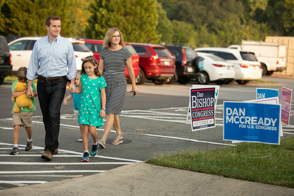 Dan McCready, a Democrat, ran seeking to flip control of the longtime Republican-held Ninth Congressional District.