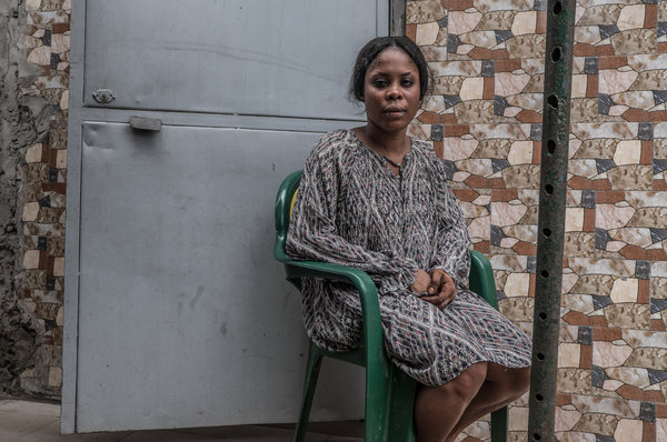 Jessica Kablan, 27, came back to Ivory Coast<br />seven months pregnant by a man she <br />had turned to for protection on the road.