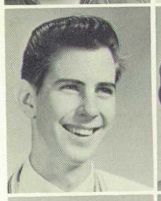 Richard Otcasek in a 1962 Maple Heights High School yearbook, where he was listed as a junior and a member of the track team.