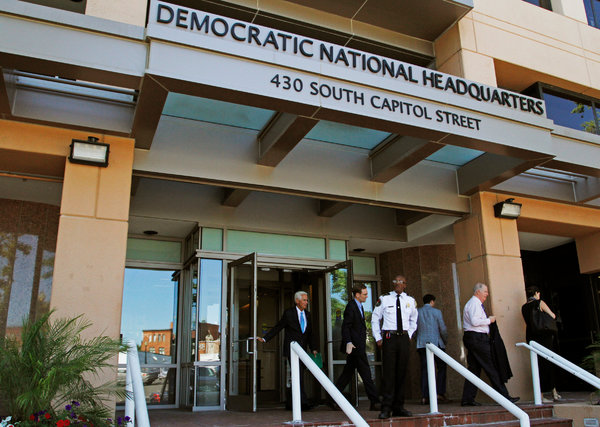 The Democratic National Committee's servers came under attack by Russian hackers in 2016.