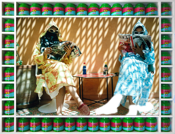 """""""Time Out"""" from the series """"Vogue: The Arab Issue"""" (2007)."""