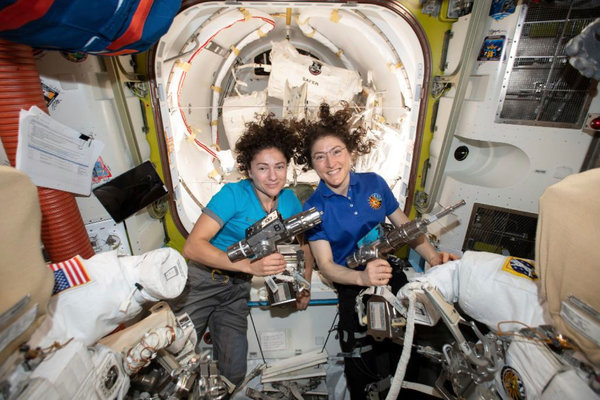 Why NASA's First All-Women Spacewalk Made History - The ...