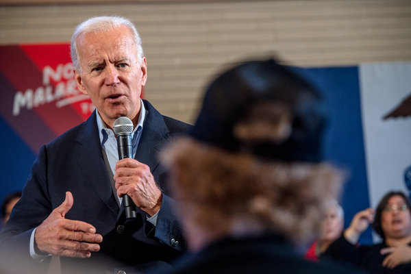 Former Vice President Joseph R. Biden Jr. argues that as the Democratic presidential nominee, he would help other Democratic candidates on the ballot.