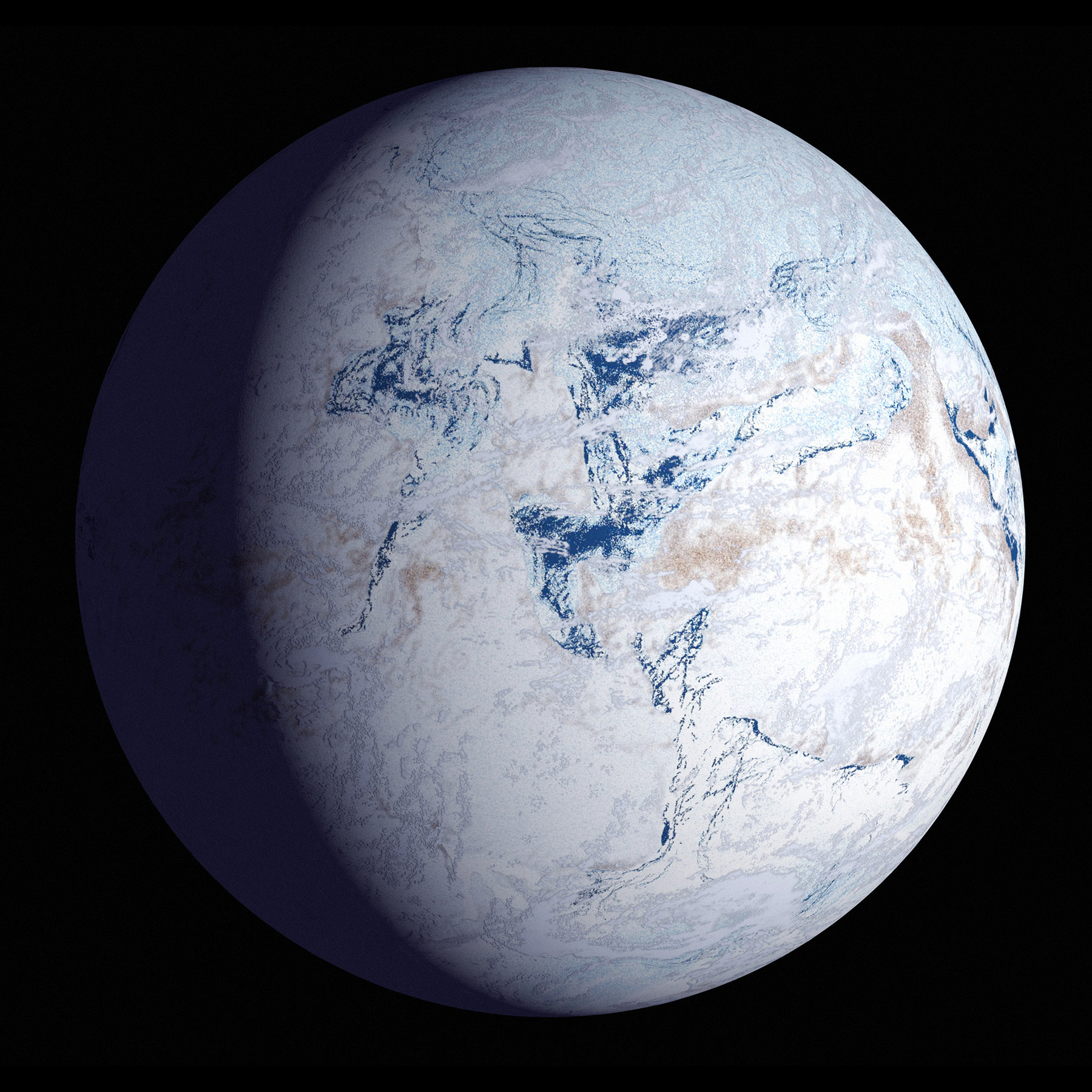 What Did The Earth Look Like In Last Ice Age