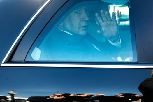 Mr. Netanyahu and his wife leaving the White House in Washington in 2018.