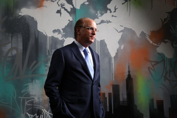 """""""The evidence on climate risk is compelling investors to reassess core assumptions about modern finance,"""" Laurence D. Fink, the chief of BlackRock, wrote in his annual letter."""