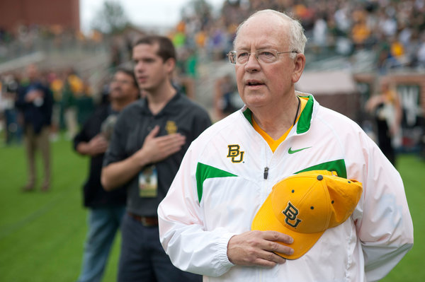 Mr. Starr at a Baylor football game in 2014.