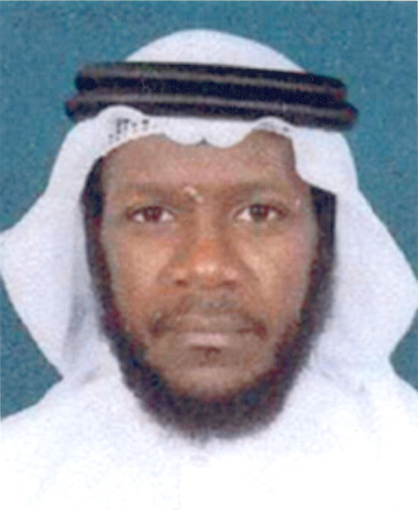 Mustafa al Hawsawi, one of the defendants accused of helping to plot the Sept. 11, 2001, attacks.