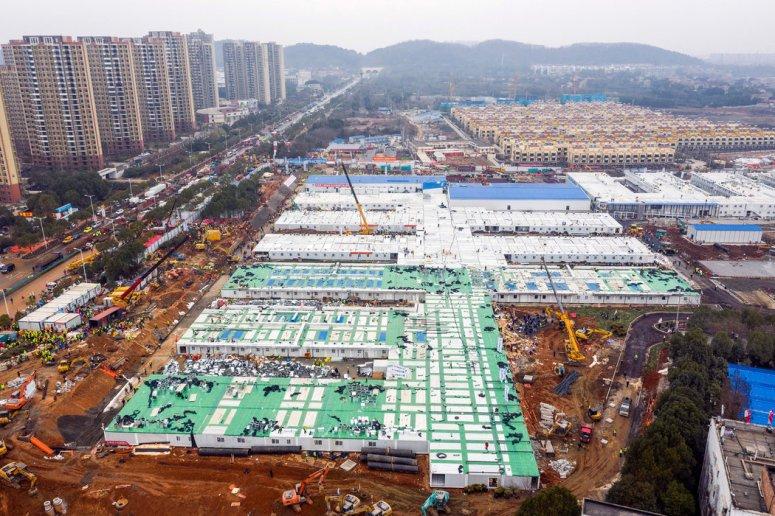 火神山医院于周日竣工。