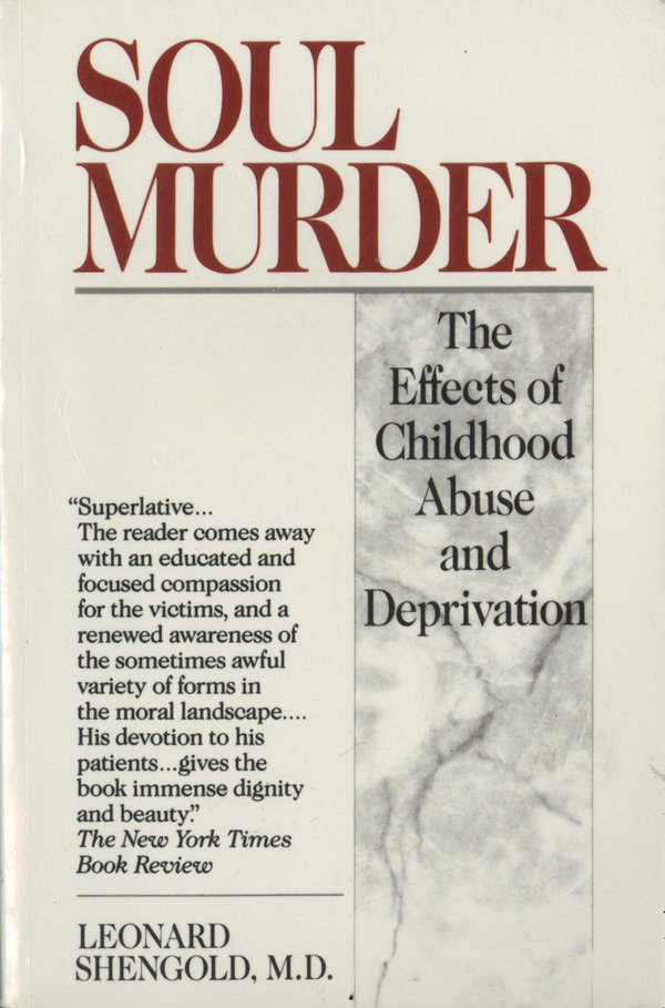 "Dr. Shengold had been treating adult victims of childhood abuse for about 25 years when he wrote his influential book ""Soul Murder,"" published in 1989."