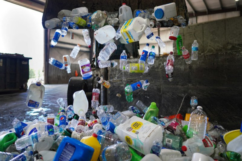 Solutions to the plastic waste problem are often described in terms of what consumers can do. A new bill shifts the responsibility to the producers of plastic.
