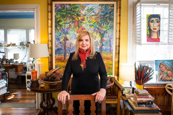 Dr. Maricel Presilla, a culinary historian in New Jersey, comes from a family of Cuban cacao growers. She now runs the International Chocolate Awards.